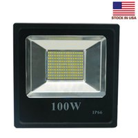 Wholesale 100w led floodlights high bright smd led flood lights waterproof outdoor led wall pack lamps ac v stock in US
