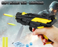 Wholesale Wholesale Toy Used - Creative Children's toys Multi-function Soft gun Dual-use EVA Bullets Water Pistol Wholesale DHL or SF EXPRESS free shipping