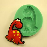 Wholesale Dragon Mold - 1pcs Baby Dragon Silicone 3D Mold patisserie reposteria Sugarcrafts Fondant Cake Decorating Tools Gypsum Pastry Moulds Kitchen Accessories