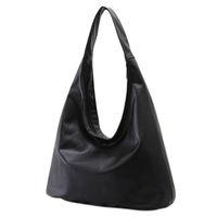 Wholesale Vintage Office Phone - Wholesale- Zipper Ladies Shoulder Bag Girl Large Capacity Hobos Bags Vintage Women Handbag Casual Black Hobo Ladies Office Big Female Bag