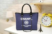 Wholesale Open Tone - fashion Famous fashion brand name women handbags Canvas Shoulder bag chains of large capacity bags