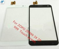 Wholesale Zopo Touch - Wholesale- Free Shipping High Quality Brand new 5.5 inch Touch Panel For ZOPO ZP999 3X ZP 999 Mobile Capactive Touch Screen Replacement