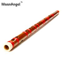 Wholesale Woodwind Musical Instruments - Wholesale-Bamboo Flute Professional Woodwind dizi Musical instruments CDEFG Key Chinese dizi Transversal Flauta Xiao