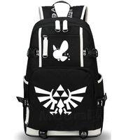 sacos de jogo ao ar livre venda por atacado-A mochila Legend of Zelda mochila Designer saco de escola quente Jogo mochila mochila Outdoor Sport pack dia