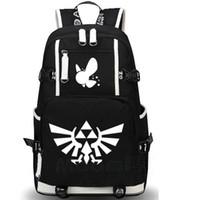 Wholesale Games Designers - The Legend of Zelda backpack Designer school bag Hot daypack Game schoolbag Outdoor rucksack Sport day pack