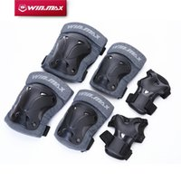 Wholesale Roller Protections - WINMAX 6pcs 1 Set Sports Safety Set Knee Pads Elbow Pads Wrist Protector Protection for Scooter Cycling Roller Skating
