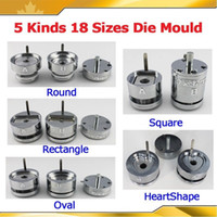 Wholesale Button Badge Machine Maker - Interchangeable Die Moulds for Pro Button Maker Badge Machine 18 Sizes