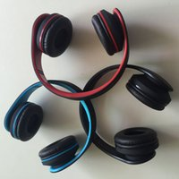 Wholesale Radio Ear Phones - HOT Bluetooth 4.0 Headphones Wireless On-ear Headsets Stereo Bass Noise Cancelling earphones Supports FM Radio TF Card for Smart phone PC