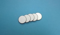 Wholesale Piezo Crystal - Ultrasonic Piezo Ceramic Disc 25mmx2.05mm-PZT4 1MHz Piezo Electric Disk PZT Beauty Crystals Chips Sensor PZT Transmitter Chips