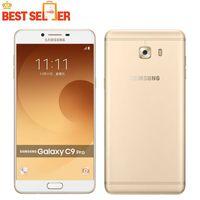 Wholesale qualcomm mobile phones - Original Samsung Galaxy C9 Pro C9000 4G LTE Mobile Phone Qualcomm Snapdragon Octa core 6'' 6GB RAM 64GB ROM 16MP Camera Android