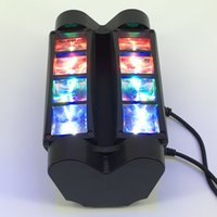 Wholesale Spot Moving Head Light Wash - 8X3W LED Spider Moving Head Light Beam Wash Spot Light Stage Light DMX512 RGBW Stage Disco Lighting Plastic&Aluminum Materials