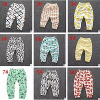 Wholesale Boys 5t Corduroy Pants - Baby Clothing Pants Toddler Ins Harem Pants Kids Lemon Leggings Girl Fox Tights kids Trousers Cotton Fashion Pants Boys