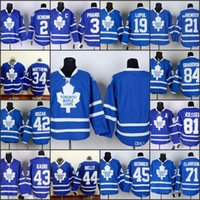 Wholesale Edge Jersey - Toronto Maple Leafs Mens Blue EDGE Home Jersey 34 Matthews 44 Rielly 21 VanRiemsdyk 45 Bernier 84 Grabovski 3 Phaneuf 19 Lupul 42Bozak
