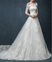 Wholesale Sexy Sweet Heart Lace - 2017 New Design Satin Arrival Beach Style Sweet Heart Sexy Backless A-line Wedding Dresses Beach Bridal Wear Custom Made Online