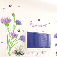 Wholesale removeable vinyl - Wall Stickers Student Dormitory Decorative Art Decal Removeable Wallpaper Mural Sticker for Kids Room Cozy Bedroom Room Adhesive