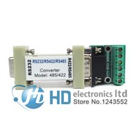 Wholesale Rs232 Serial Converter - Wholesale- RS-232 RS232 serial to RS485 RS422 485 422 Converter