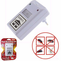 Wholesale Roach Repellent - New Efficient Riddex Pest Repelling Aid New Riddex Plus Pest Repellent Repelling Aid for Rodents Roaches Ants Spiders EU