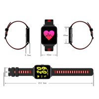 Wholesale Long Phone Call - SN10 Long Standby Bluetooth Call Heart Rate Detection Sleep Monitor Anti-lost Smart Watch Bracelet Android iOS Phone Intelligent Device