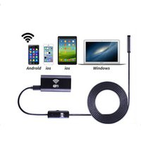 Wholesale Borescope Android - High quality Wifi Endoscope Camera Android 720P Iphone Borescope Waterproof Camera Endoscopic Android iOS Boroscope Camera 1401011