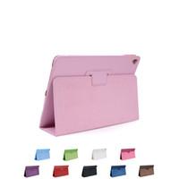 ipad deckt verkauf großhandel-Heißer Verkauf Leder Brieftasche Ständer Flip Fall Smart Cover für neue iPad 2017 Pro9.7 Zoll