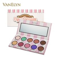 Wholesale Eye Cream Glitter - 2017 New Dose of Colors Eyes Cream Palette Limited Edition Eyeshadow Palette 0.49OZ 10 Shades Pigment Eye Shadow Free Shipping Drop Shipping