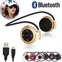 Wholesale Mini Bluetooth Ear For Music - Mini 503 Wireless Bluetooth Stereo Headphone Handsfree Sports Music in-ear Earphone Headset for Iphone 6 5S Ipad Samsung S4 S5 HTC LG DHL
