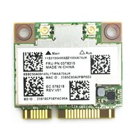 Atacado- Broadcom BCM94352HMB 802.11ac Dual Band 2x2 Wireless-AC Wifi + Bluetooth BT 4.0 867Mbps Half Mini PCI-E Card para IBM / Lenovo