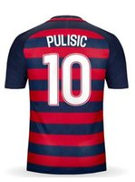 Wholesale Dry Tops - Custom Your 16-18 Jersey Top Thai Quality customized Personalized Team Jerseys, #10 PULISIC 2017 Gold Cup Jersey Shirts,Hot Soccer Jerseys