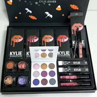 NUEVA Kylie Fall Collection Jenner Lip kit Liquid Lipstick lipgloss sombra de ojos power big box purple palette high light Regalo de navidad