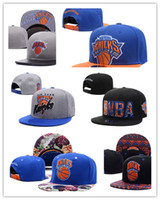 Wholesale Basketball Snapback Hats New York - New Design york Adjustable knicks Snapback Hat Thousands Snap Back Hat For Men Basketball Cheap Hat Baseball Cap