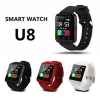 Smartwatch U8 Bluetooth Smart Watch relógio de pulseira para telefone para Android iPhone Samsung HTC Mobile Phone Wrist Band Watch