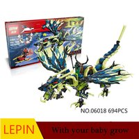 Wholesale Educational Toys Block Ninja - Hot Building Blocks Lepin Ninja 06018 Educational Toys For Children Best birthday gift Decompression toys Furniture collection