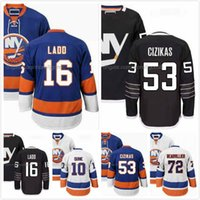 Alan Quine Jersey 10 Casey Cizikas 53 Andrew Ladd 16 Anthony Beauvillier 72 Ice Hodkey Maglie New York Islanders Full Sitch S-3XL