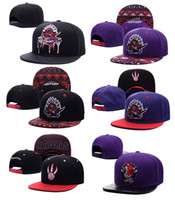 Wholesale Hats Toronto - 2017 Toronto Adjustable Raptors Lowry DeRozan Snapback Hat Thousands Snap Back Hats Basketball Cheap Cap Adjustable men women Baseball Caps