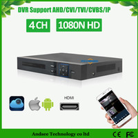 Wholesale 1080N Hybrid CH AHD DVR in recorder P P NVR DVR TVI CVI HVR Support For MP AHD Camera
