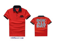 Wholesale Blue Red Crewneck - 2017 Crooks and Castles DGK Polo t shirt 08 COTTON men casual short sleeve print crewneck mens tee shirt