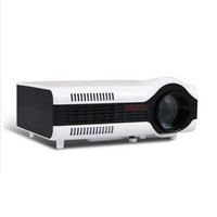 Wholesale data show - Wholesale- New! Freeshipping ! 2200 lumens portable HD LED data show beamer proyector TV 3D projector with 2HDMI 2USB for home theater