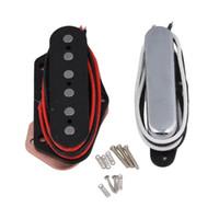Wholesale Tele Style - Electric Guitar Pickup Bridge & Neck Pickup Alnico 5 Magnet for Tele Style