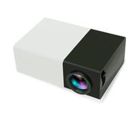 lcd ekran sistemi toptan satış-Yeni Varış Mini Projektör YG300 Büyük Ekran Yenilikçi Tasarım LED Işık Çok medya AV HDMI Soğutma Sistemi Taşınabilir Tiyatro Cep Proyector