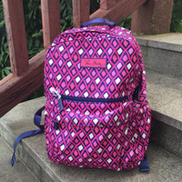 Wholesale College Style Women - VB Nylon School Bag Campus Laptop Backpack School Bag Travel College 100% real