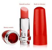 Wholesale Mini Egg Vibrating - 2017 New Stock Lipstick Vibe,Discreet Mini Bullet Vibrator,Vibrating Lipsticks,Lipstick Jump Eggs,Sex Toys,Sex Products for women Free Ship