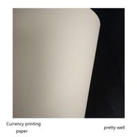 Wholesale Bond Paper Sheets - 50 sheets bond printinng paper 75% cotton 25% linen pass pen test paper high quality with colored fiber A4 size