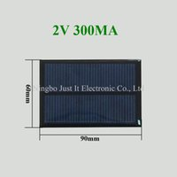 Wholesale smaller solar panels for sale - Group buy 100pcs Epoxy Resin Small Solar Panel V mA mm