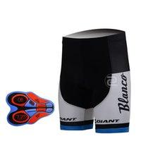 Wholesale Team Blanco Cycling Shorts - 2017 NEW BLANCO team 9D Gel Padded Shorts Quick-Dry Man summer breathable quick-drying Cycling shorts ROPA Outdoor Leisure bike Shorts DB02