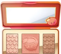 como kits al por mayor-Paleta de maquillaje Sweet Peach Glow 3 Color Blush Powder Blusher Marcas Sombra de ojos Cara Mske UP Kits cosméticos huele a melocotones compras gratis