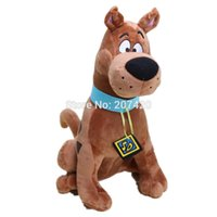 Wholesale Scooby Doo Dog Toys - Wholesale-13'' 35cm Cute Scooby Doo Dog Soft Stuffed Plush Toy Dolls Gift For Kids