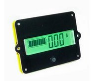 Wholesale 48v lifepo4 - Battery Led Dispaly Fuel Gauge Tester 8-50V 50A SOC Monitor For 24V 36V 48V Lithium-ion And LiFePO4