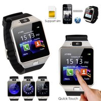Wholesale Smart Phone Remote Support - DZ09 Fashion Hot Smart Watch for Apple Android Phone Support SIM TF Smartwatch PK GT08 U8