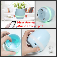 Wholesale Big Kid Night Light - New! Creative Music Vase Smart Music Flowerpot Wireless Bluetooth Speaker K3 Intelligent Plant Piano Music with Colorful LED Night Light