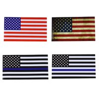 Wholesale Laptop Logo Stickers - American US Flag sticker logo For Car Window, Laptop, Motorcycle, Walls, Mirror and More free shipping